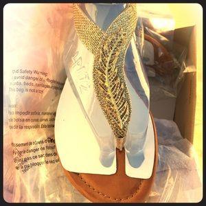 Jessica Sparkle Mesh Sandal size 8.5.